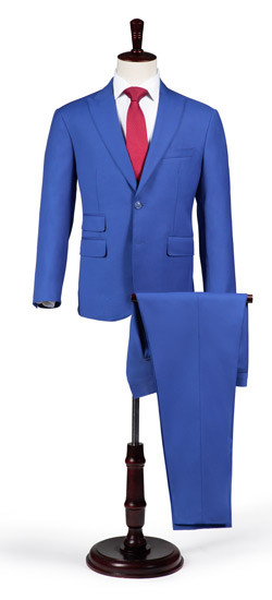 VBC Super 120s Blue Suit